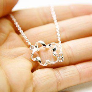 Flower Outline Necklace/Bracelet/Anklet Handmade🌸